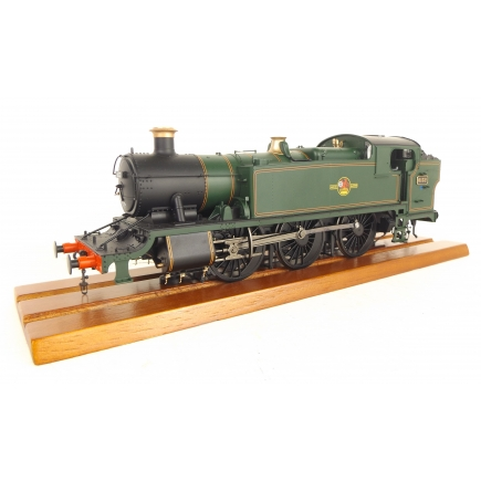 GWR 61xx Large Prairie Tank 6132 BR Lined Green Late Crest