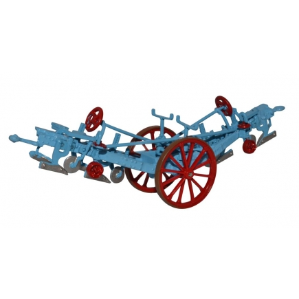 Fowler Plough Blue and Red