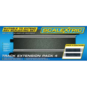Track Extension Pack - 4 Straights