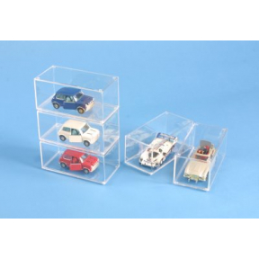Stackable 1 43 Clear Display Case - Ideal for Model Cars
