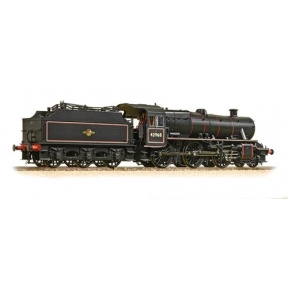 LMS Stainer Mogul 2-6-0 42968 BR Black Late Crest Preserved