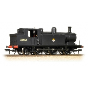 Class E4 0-6-2 32556 BR Black Early Crest