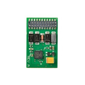 8 pin DCC decoder 0.9 amp 4 function featuring RailComPlus