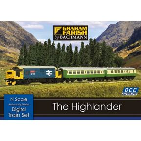The Highlander Digital Train Set