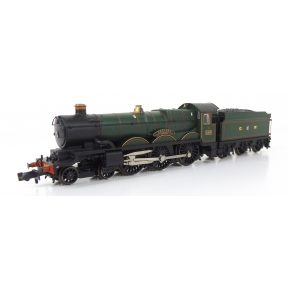 GW Castle 4-6-0 5060 'Defiant' GW Green DCC Sound Split From Set