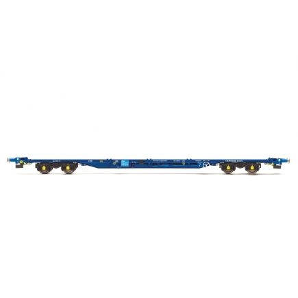 Hornby R6926 KFA Intermodal Wagon Tiphook Rail (No Containers)
