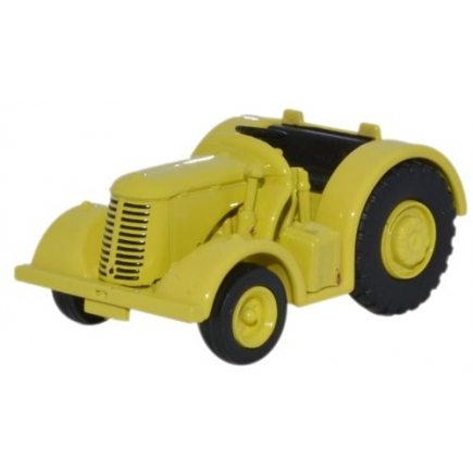 Oxford Diecast David Brown Tractor Yellow