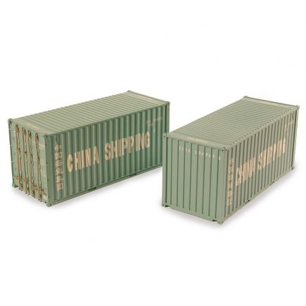 Bachmann 36-125 20ft Containers 'China Shipping' (x2)