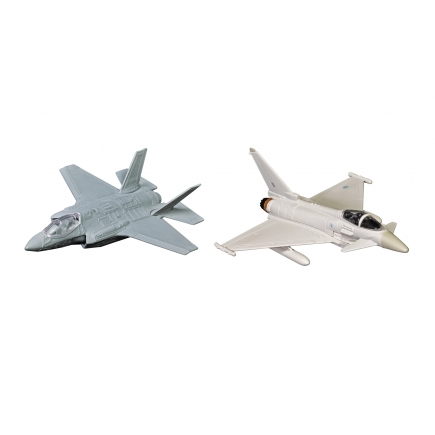Corgi CS90685 Defence of the Realm Collection F-35 & Eurofighter Typhoon