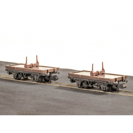 Peco KNR-39 N Gauge Single Bolster Wagons Kit