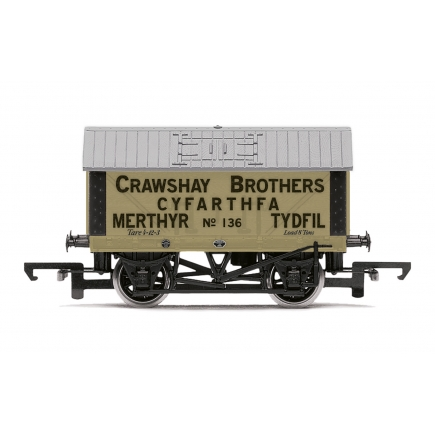 Hornby R6976 Crawshay Brothers 8T Lime Wagon No. 136/3