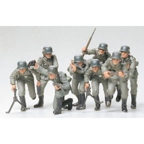 Tamiya German Assault Troops (Infantry)