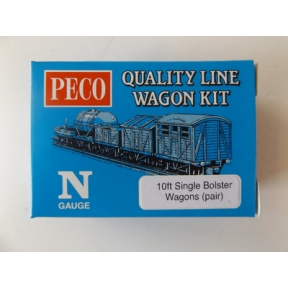 Peco KNR-39 Single Bolster Wagons