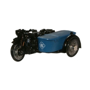 Oxford Diecast RAC BSA Motorcycle and Sidecar