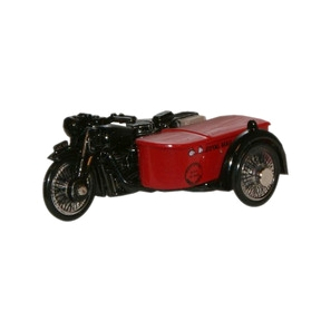 Oxford Diecast Royal Mail BSA Motorcycle Sidecar