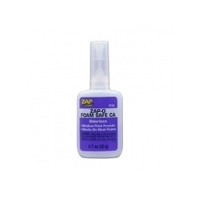 Zap-O Foam Safe CA odourless 20g bottle