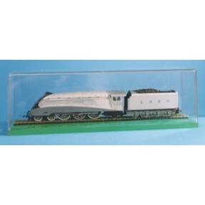 Amjo Boxes OO Gauge Railway Loco Display Case with an MDF base
