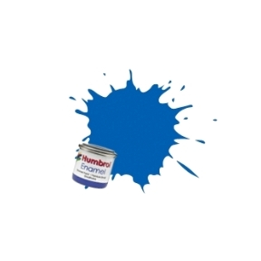 Humbrol No.14 French Blue Gloss Finish Enamel Paint 14ml Tinlet