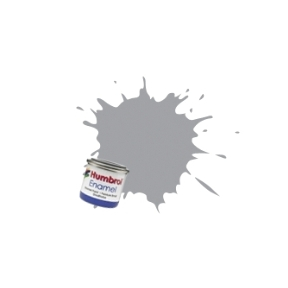 Humbrol No.40 Pale Grey Gloss Finish Enamel Paint 14ml Tinlet
