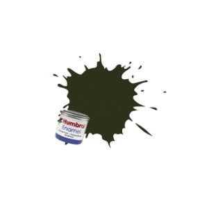 Humbrol No.53 Gunmetal Metallic Finish Enamel Paint 14ml Tinlet