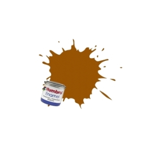 Humbrol No.55 Bronze Metallic Finish Enamel Paint 14ml Tinlet