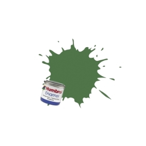 Humbrol No.88 Deck Green Matt Finish Enamel Paint 14ml Tinlet