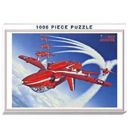 Red Arrows Inverted 1000 Piece Puzzle