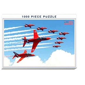 Red Arrows Formation 1000 Piece Puzzle