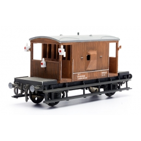 Dapol C038 OO Gauge BR Brake Van Kit Plastic Kit