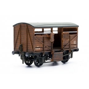 Dapol C039 OO Gauge Cattle Wagon Plastic Kit