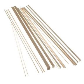 Balsa Wood Strip 1/8 x 1/4 x 36