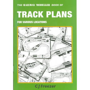 Peco Railway Modeller Book Of Track Plans For Various Locations