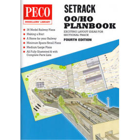 Peco OO Gauge Setrack Planbook
