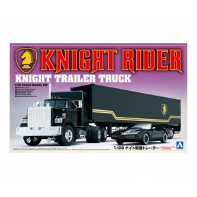 Aoshima 030660 Knight Rider Trailer Truck Plastic Kit