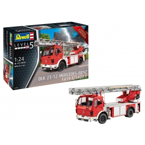Revell 07504 DLK 23-12 MB 1419 F/1422 F Fire Engine Plastic Kit