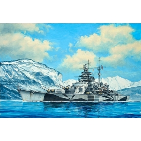 Model Set - Tirpitz (1 1200 Scale)