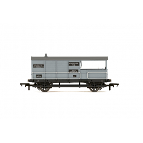 Hornby R6835 GW AA15 20 Ton Toad Brake Van Honeybourne BR Grey