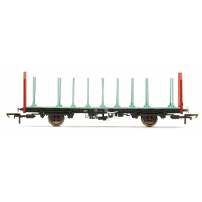 Hornby R6847 OTA Timber Wagon (Parallel Stanchions) EWS