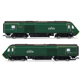 Hornby R3685 GWR Class 43 HST Power Cars 43041 'Meningitis Trust Support for Life' and 43005
