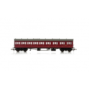 Hornby R4879 BR Collett 57' Bow Ended E131 Nine Compartment Composite (Right