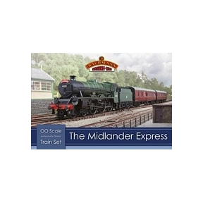 Bachmann 30-285 The Midlander Express Train Set