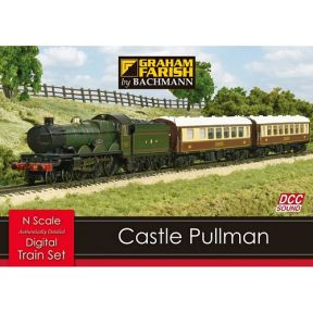 Graham Farish 370-160 Castle Pullman DCC Sound Train Set