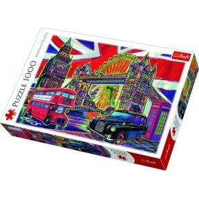 Colours of London 1000 Piece Puzzle
