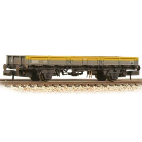 Graham Farish 377-730B BR ZAA 'Pike' Open Wagon BR Engineers Grey & Yellow