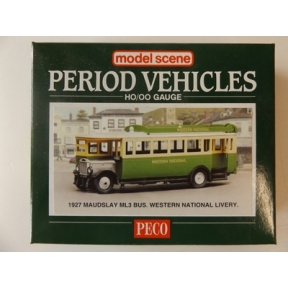 Modelscene 5133 OO Gauge Maudsley Bus - Western National
