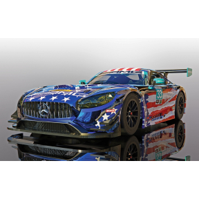 Scalextric Mercedes AMG GT3 - Riley Motorsports Team