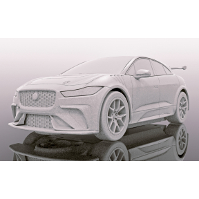 Scalextric Jaguar I-Pace Red