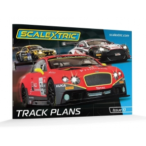 Scalextric C8334 Track Plans Book 10th Edition