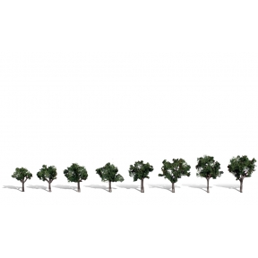 Woodland Scenics TR3547 Cool Shade Tree Pack Of 8
