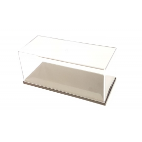 Display Case with Black Base